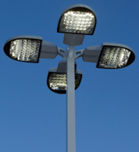LED greatly reduce energy of outdoor lighting